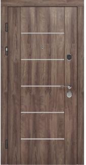 Входные двери STZ 003 Rodos дуб коньяк синхро 16 мм(внутренняя),16 мм(наружная)