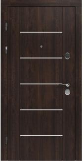 Входные двери STZ 003 Rodos дуб табак синхро 16 мм(внутренняя),16 мм(наружная)