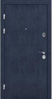 Входные двери STZ 004 Rodos бетон антрацит 16 мм(внутренняя),16 мм(наружная)