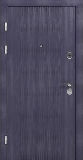 Входные двери STZ 004 Rodos грифель структура софт 16 мм(внутренняя),16 мм(наружная)