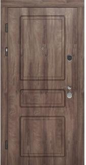 Входные двери STZ 005 Rodos дуб коньяк синхро 16 мм(внутренняя),16 мм(наружная)