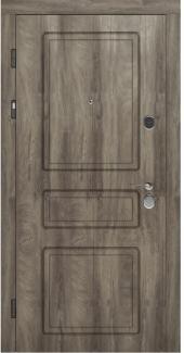 Входные двери Двери Rodos STZ 005 дуб ясный синхро