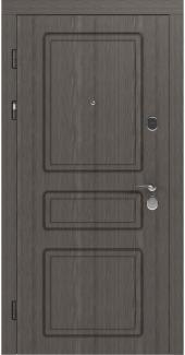 Входные двери STZ 005 Rodos флитвуд лава SC 16 мм(внутренняя),16 мм(наружная)