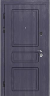 Входные двери STZ 005 Rodos грифель структура софт 16 мм(внутренняя),16 мм(наружная)