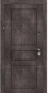 Входные двери STZ 005 Rodos винтажный дуб серый 16 мм(внутренняя),16 мм(наружная)
