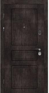 Входные двери STZ 005 Rodos винтажный дуб темный 16 мм(внутренняя),16 мм(наружная)
