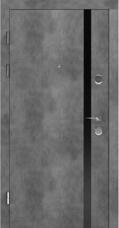 Входные двери STZ 006 Rodos бетон наружный 16 мм(внутренняя),16 мм(наружная)