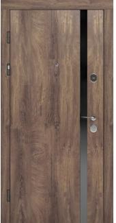 Входные двери STZ 006 Rodos дуб коньяк синхро 16 мм(внутренняя),16 мм(наружная)