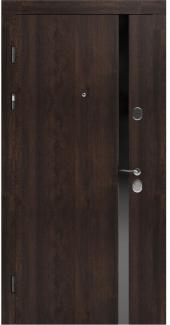 Входные двери STZ 006 Rodos дуб табак синхро 16 мм(внутренняя),16 мм(наружная)