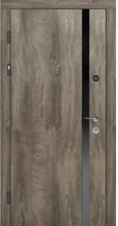 Входные двери STZ 006 Rodos дуб ясный синхро 16 мм(внутренняя),16 мм(наружная)