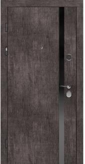 Входные двери STZ 006 Rodos винтажный дуб серый 16 мм(внутренняя),16 мм(наружная)