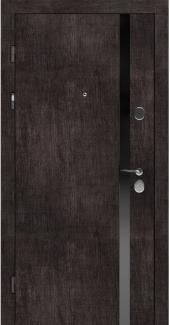Входные двери STZ 006 Rodos винтажный дуб темный 16 мм(внутренняя),16 мм(наружная)