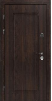 Входные двери STZ 007 Rodos дуб табак синхро 16 мм(внутренняя),16 мм(наружная)