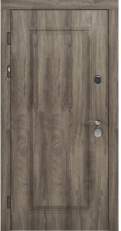 Входные двери STZ 007 Rodos дуб ясный синхро 16 мм(внутренняя),16 мм(наружная)