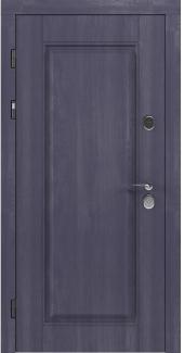 Входные двери STZ 007 Rodos грифель структура софт 16 мм(внутренняя),16 мм(наружная)