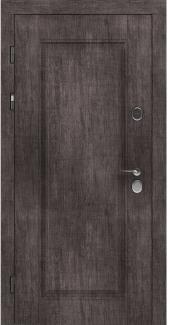Входные двери STZ 007 Rodos винтажный дуб серый 16 мм(внутренняя),16 мм(наружная)