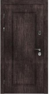 Входные двери STZ 007 Rodos винтажный дуб темный 16 мм(внутренняя),16 мм(наружная)