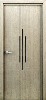 Двері Інтерєрні двері Сафари капучино з молдінгом