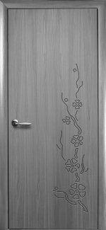 Двери Сакура Новый Стиль грей Делюкс глухая