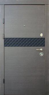 Двері Qdoors Преміум Сити-М венге сірий горизонт