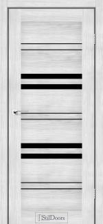 Межкомнатные двери Slovenia StilDoors сандал стекло черное