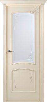 Двери Сорренто (Белорусские двери) BelWoodDoors (Беларусь) соновая кость со стеклом