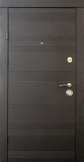 Двері Qdoors Преміум Статус венге темний горизонт з двох сторін