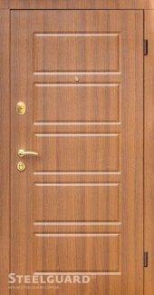 Двері Steelguard DG-21 179 горіх шоколадний / венге світлий