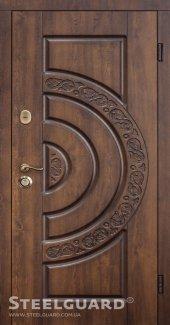 Двері Steelguard Optima 157 vin nussbaum з патиною