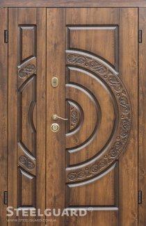 Двері Steelguard Optima Big vin nussbaum з патиною