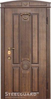 Двері Steelguard SG-15 vin nussbaum з патиною