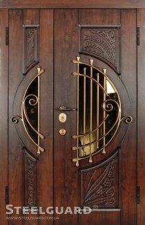 Двері Steelguard Soprano 109 vin nussbaum з патиною