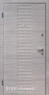 Двері Steelguard Vesta 179 венге горизонт сіре / сосна прованс