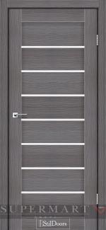 Межкомнатные двери Двери Tanzania StilDoors дрим вуд стекло сатин