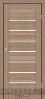 Межкомнатные двери Двери Tanzania StilDoors ольха классическая стекло сатин