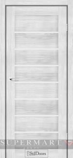 Межкомнатные двери Двери Tanzania StilDoors сандал стекло сатин