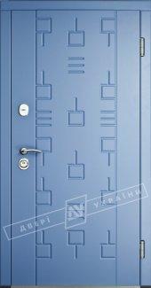 Входные двери Трек-1 Интер Украины  12 мм(полотно),16 мм(наличники)