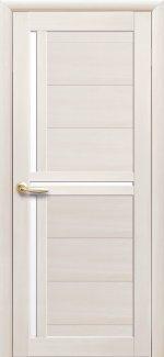 Двери Тринити дуб жемчужный стекло Сатин