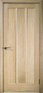 Двери Трояна Галерея дверей светлый дуб глухое