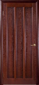 Межкомнатные двери Трояна НСД каштан глухое