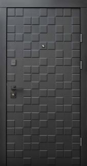 Входные двери Ультра Онтарио Qdoors софт черный