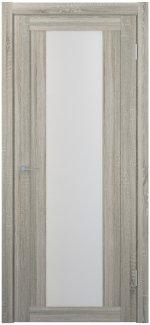 Межкомнатные двери Двери FM-01 Юнидорс Grey Sonoma стекло Сатин