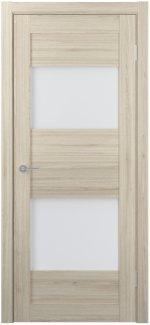Межкомнатные двери Двери FM-02 Юнидорс Cappuccino стекло Сатин
