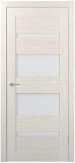 Межкомнатные двери Двери FM-05 Юнидорс Bianco стекло Сатин