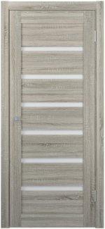 Межкомнатные двери Двери FM-06 Юнидорс Grey Sonoma стекло Сатин