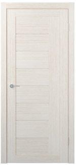 Межкомнатные двери Двери FM-08 Юнидорс Bianco стекло Сатин