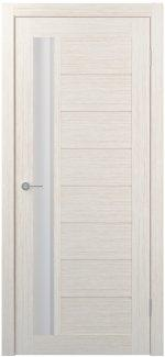 Межкомнатные двери Двери FM-09 Юнидорс Bianco стекло Сатин