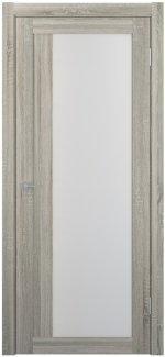 Межкомнатные двери Двери FM-10 Юнидорс Grey Sonoma стекло Сатин