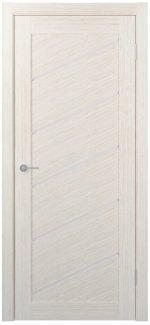 Межкомнатные двери Двери FM-55 Юнидорс Bianco стекло Сатин