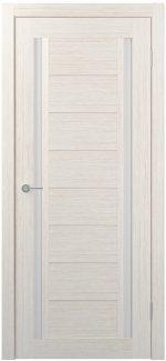 Межкомнатные двери Двери FM-88 Юнидорс Bianco стекло Сатин